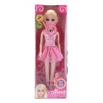 Кукла Мария 29 см Балерина, в ассорт, поет песню певицы Нюши Выше