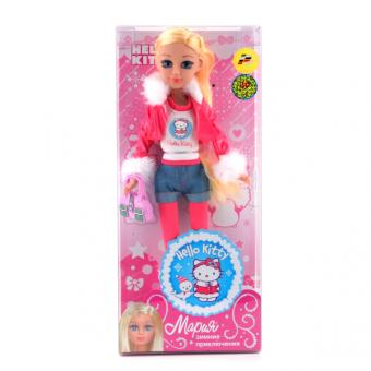 Кукла Мария 29 см. Hello kitty Зимние приключение