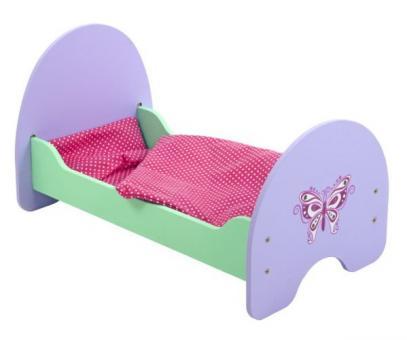 Кроватка деревянная Бабочка