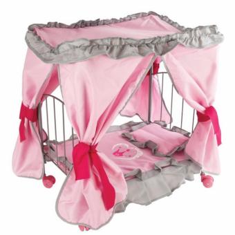 Кровать для кукол с балдахином Корона