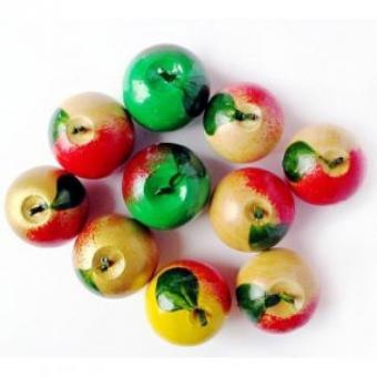 Счетный материал Яблоки 10 штук