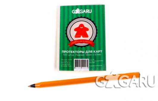 GaGa. Протекторы Mini USA (100 шт.) размер (41мм*63мм)