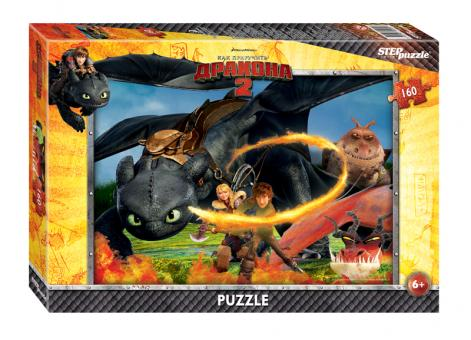 Пазл 560 Как приручить дракона-2