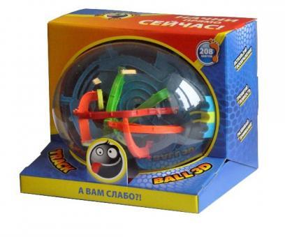 Track Ball 3D 22 см, 208 ходов