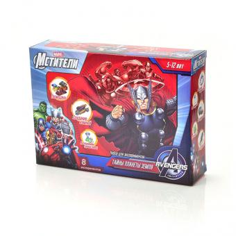 Набор для проведения экспериментов Marvel Мстители Тайны планеты Земля