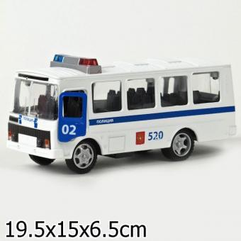 Технопарк. ПАЗ 3205 Полиция (свет+звук)
