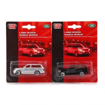 Технопарк. Машина Land rover/Rrange Rrover. 7,5см на блистере