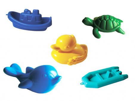 Набор для купания Дельфин,черепаха,уточка,кораблик,лодочка