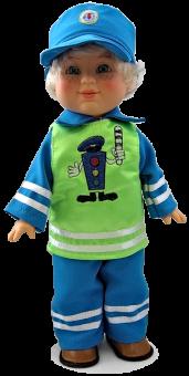 Кукла Митя-постовой озвученная 35 см