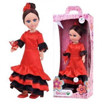 Кукла Анастасия Испанский танец озвученная, 42 см