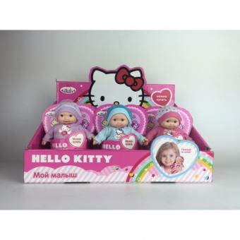 Пупс 12 см твердое тело, в ассорт Hello Kitty