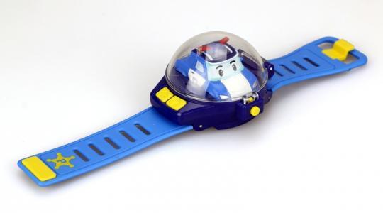 Часы с мини машинкой на ДУ