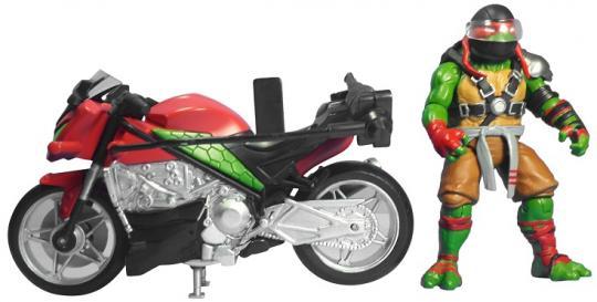 Мотоцикл с фигуркой Рафа, серия Movie Line 2016