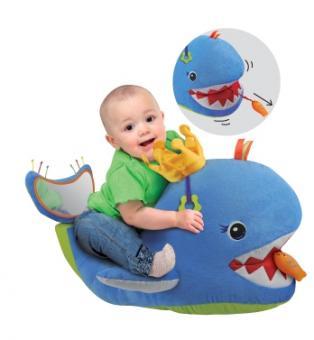 Развивающая игрушка Большой музыкальный кит