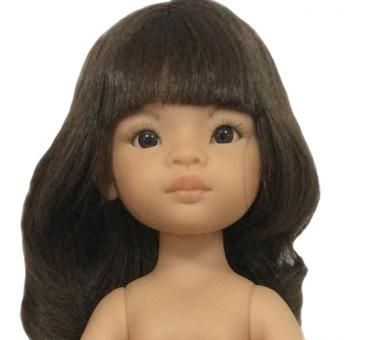 Кукла Мали с челкой без одежды, 32 см