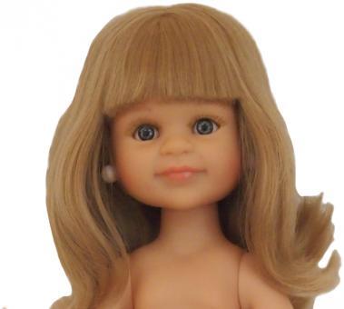 Кукла Клеопатра с челкой без одежды, 32 см