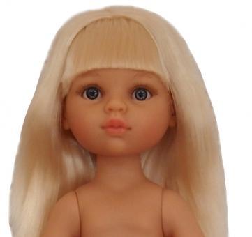 Кукла Клаудия с челкой без одежды, 32 см