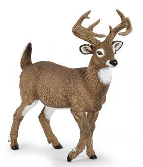 Фигурка Белохвостый олень, 10 см