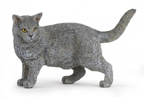 Фигурка Кошка породы Шартрез, 8 см