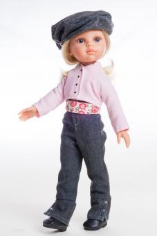 Кукла Клаудия наездница, 32 см