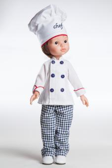 Кукла Карлос повар, 32 см