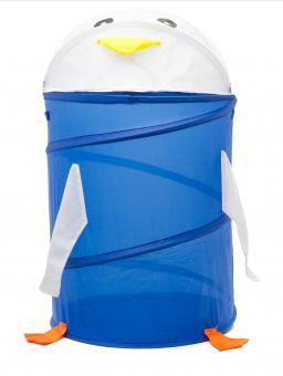Корзина для игрушек Пингвин синий