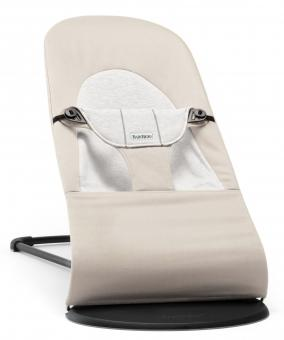 Кресло-шезлонг Balance Soft   Бежевый c серым Cotton Jersey
