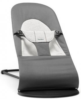 Кресло-шезлонг Balance Soft   Темно-серый с серым Cotton Jersey