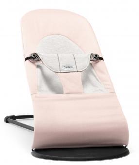 Кресло-шезлонг Balance Soft   Нежно-розовый с серым Cotton Jersey