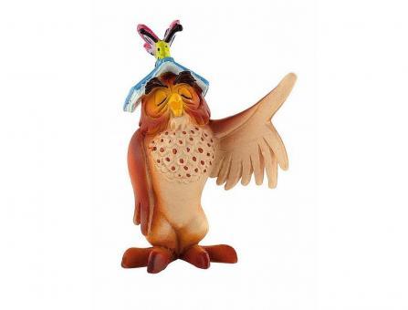 Фигурка Сова с книгой, из мультфильма Винни Пух