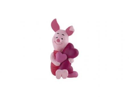 Фигурка Хрюня и сердце 6 см, из мультфильма Винни Пух