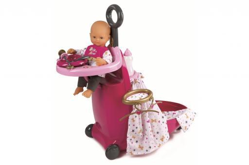 Набор для кормления и купания пупса в чемодане, из серии Baby Nurse