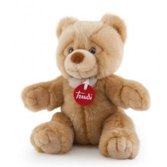 Бежевый медвежонок Тео, 26 см