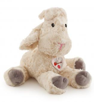 Мягкая игрушка Белая овечка, 38см