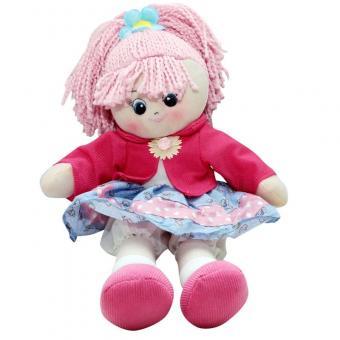 Кукла мягкая Земляничка, 40 см