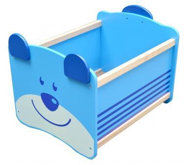 Ящик для хранения Медведь(синий)