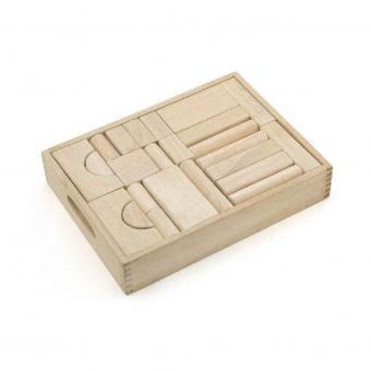 Деревянный конструктор 46 деталей