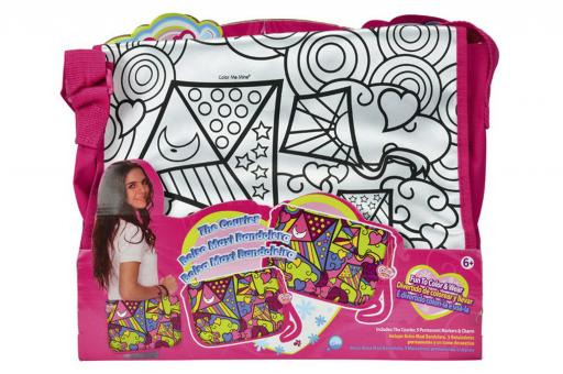 Color Me Mine Сумка Молодежный стиль для разукрашивания + маркеры, 34х27 см