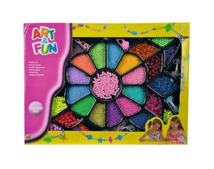 Красочный набор для творчества, 10 000 бусинок