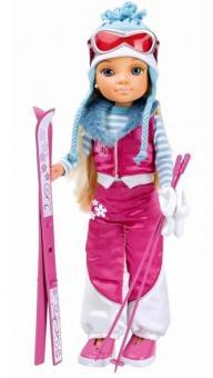 Кукла Nancy (Нэнси) Зимняя красавица на лыжах
