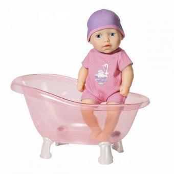 My first Baby Annabell Кукла с ванночкой, 30 см