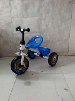 Трехколесный велосипед Star trike синий