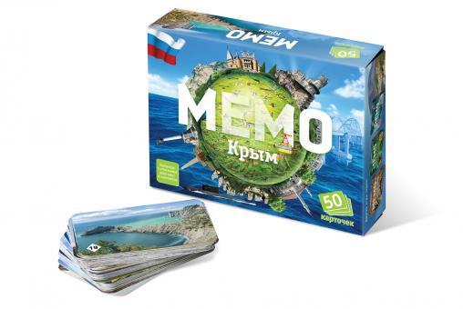 Игра Memo Крым (50 карточек) Мемо