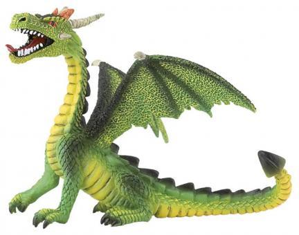 Фигурка Дракон зеленый, 11 см