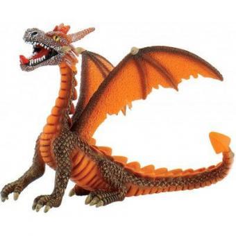 Фигурка Дракон оранжевый, 11 см