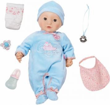 Baby Annabell Кукла мальчик многофункциональная, 43 см