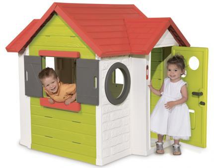 Детский игровой домик со звонком и замком