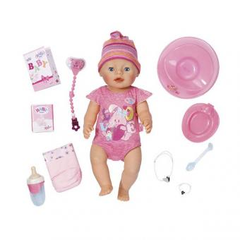 Baby born Интерактивная Кукла, 43 см
