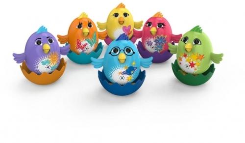 Интерактивная игрушка Digi Birds Цыпленок с кольцом