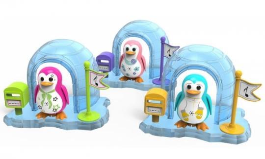 Интерактивная игрушка Digi Birds Пингвин в домике